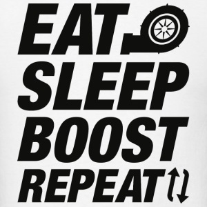 Eat Sleep Boost Repeat - Men's T-Shirt