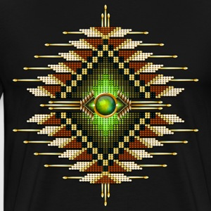 Native American Beadwork 26 - Men's Premium T-Shirt