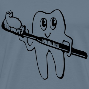 Tooth And Brush - Men's Premium T-Shirt