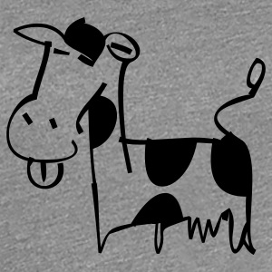 Cow - Women's Premium T-Shirt