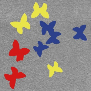 Butterflys - Women's Premium T-Shirt