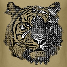 Tiger (black and white) T-Shirts