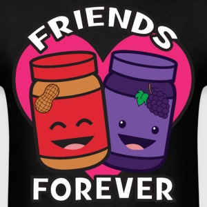 Friends Forever - Peanut Butter And Jelly T-Shirts - Men's T-Shirt