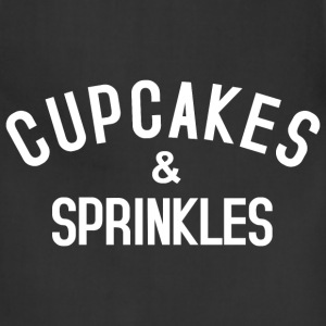 Cupcakes & Sprinkles Aprons - Adjustable Apron