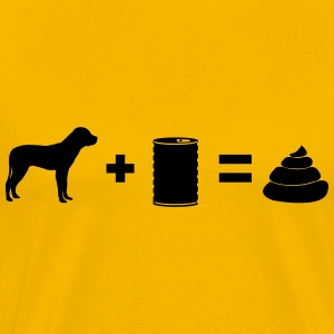 Dog poop bill - Men's Premium T-Shirt