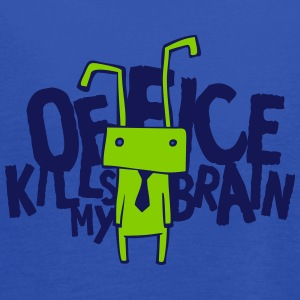 Office kills my brain Tanks - Women's Flowy Tank Top by Bella