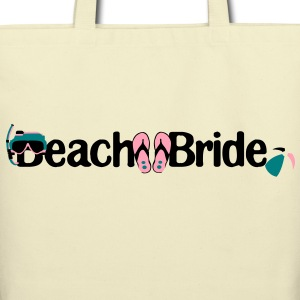 Beach Bride Eco- Friendly Tote - Eco-Friendly Cotton Tote