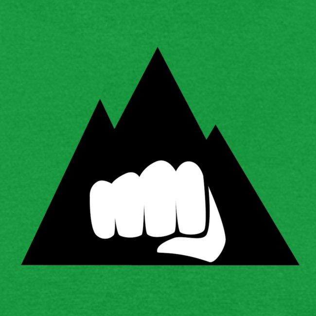 The Mountain Logo T-Shirt (L) Men's Fruit of the Loom