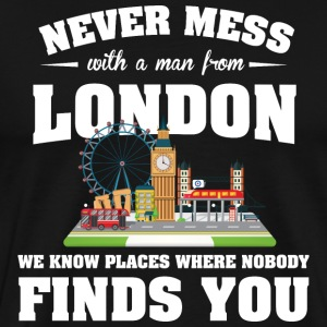 Cities London T-Shirts - Men's Premium T-Shirt