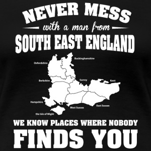 Countries South England T-Shirts - Women's Premium T-Shirt