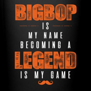 Bigbop Is My Name Becoming A Legend Is My Game Mugs & Drinkware - Full Color Mug