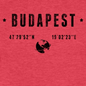 Budapest T-Shirts - Fitted Cotton/Poly T-Shirt by Next Level