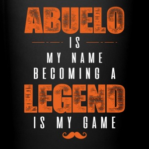 Abuelo Is My Name Becoming A Legend Is My Game Mugs & Drinkware - Full Color Mug