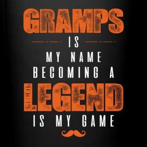 Gramps Is My Name Becoming A Legend Is My Game Mugs & Drinkware - Full Color Mug
