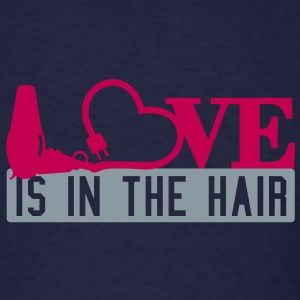 Love is in the hair (2c) T-Shirts - Men's T-Shirt