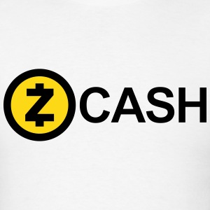 Zcash Logo (Cryptocurrency) T-Shirts - Men's T-Shirt
