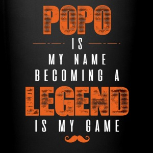 Popo Is My Name Becoming A Legend Is My Game Mugs & Drinkware - Full Color Mug