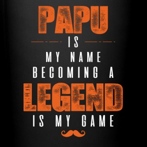 Papu Is My Name Becoming A Legend Is My Game Mugs & Drinkware - Full Color Mug