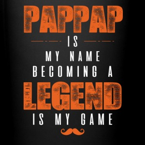 Pappap Is My Name Becoming A Legend Is My Game Mugs & Drinkware - Full Color Mug