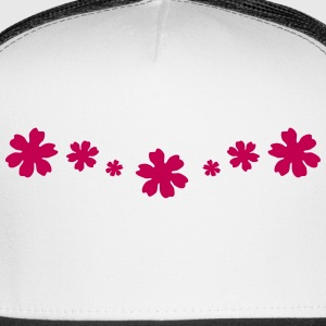 Flowers, Flower design Sportswear - Trucker Cap