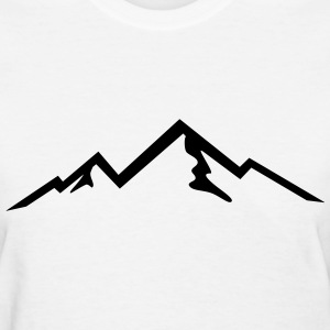Mountain, mountains T-Shirts - Women's T-Shirt