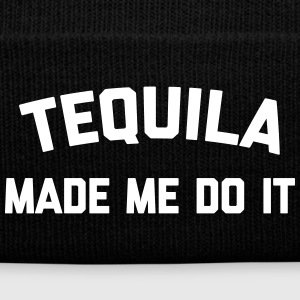 Tequila Do It Funny Quote Sportswear - Knit Cap with Cuff Print