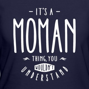Moman Thing  - Women's 50/50 T-Shirt