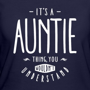 Auntie Thing  - Women's 50/50 T-Shirt