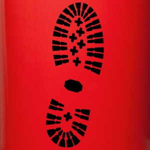 Footprint right, Shoeprint Mugs & Drinkware - Full Color Mug