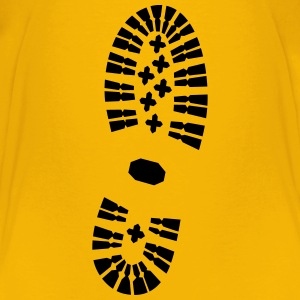 Footprint right, Shoeprint Baby & Toddler Shirts - Toddler Premium T-Shirt