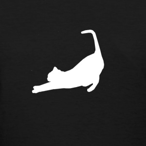 Premium French Stretching Cat Practicing Yoga T-Shirts - Women's T-Shirt