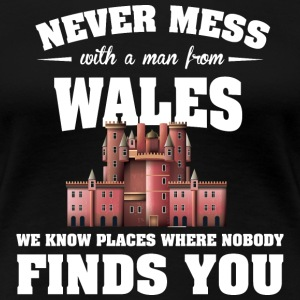 Countries Wales T-Shirts - Women's Premium T-Shirt