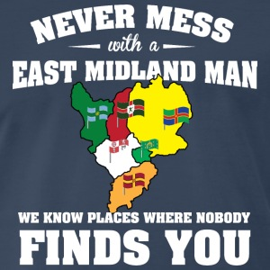 Countries East Midland T-Shirts - Men's Premium T-Shirt