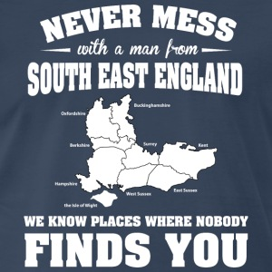 Countries South England T-Shirts - Men's Premium T-Shirt