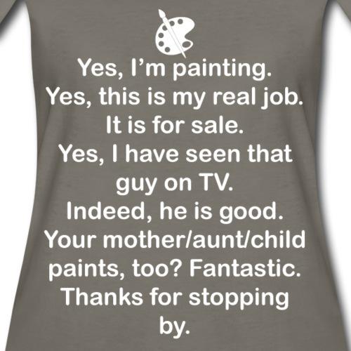 Yes, I'm Painting