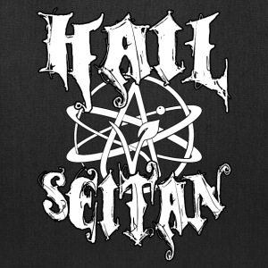 Hail Seitan - Vegan Atheist Bags & backpacks - Tote Bag