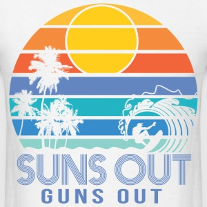 Suns Out Guns Out Summer T-Shirts - Men's T-Shirt