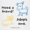 Kids - Adopt A Friend, Dog & Cat Graphic - Kids' Premium T-Shirt