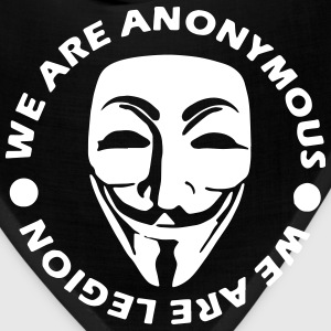 anonymous 3 Caps - Bandana