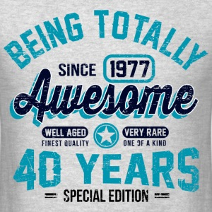 40 Years Of Being Awesome T-Shirts - Men's T-Shirt
