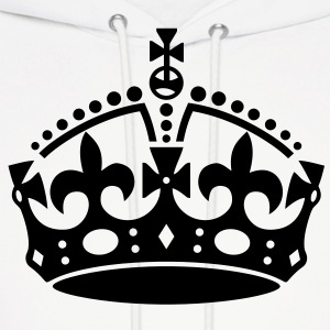 Keep Calm Crown Hoodies - Men's Hoodie