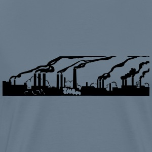Industry pollution - Men's Premium T-Shirt