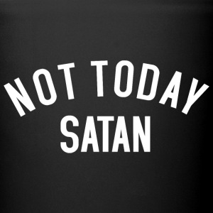 Not today Satan Mugs & Drinkware - Full Color Mug