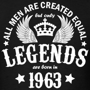 Legends are Born in 1963 - Men's T-Shirt