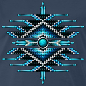 Native American Beadwork 28 - Men's Premium T-Shirt