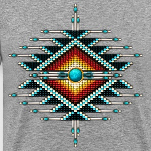 Native American Beadwork 29 - Men's Premium T-Shirt