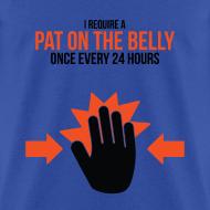 Design ~ Mens Tee: Belly Pat