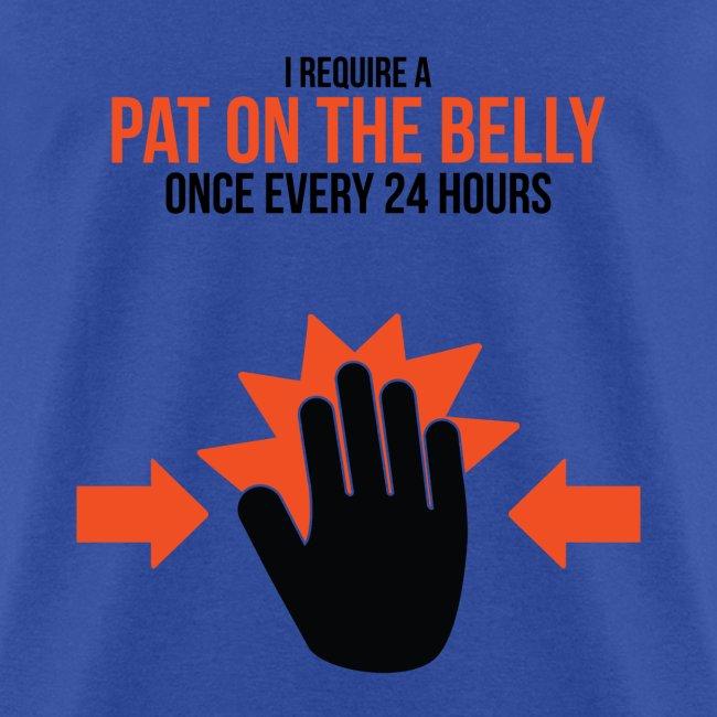 Mens Tee: Belly Pat