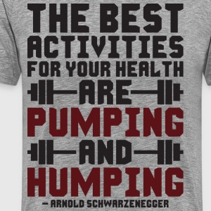 Pumping And Humping T-Shirts - Men's Premium T-Shirt
