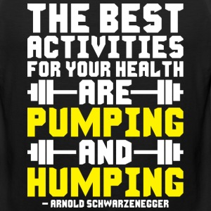 Pumping And Humping Sportswear - Men's Premium Tank